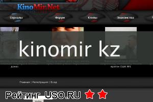 Kinomir kz — отзывы посетителей сайта