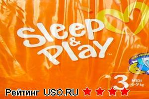 Подгузники pampers sleep play