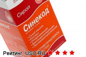 """Противокашлевое средство Novartis """"Синекод"""""""
