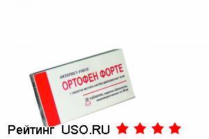 Ортофен — отзывы