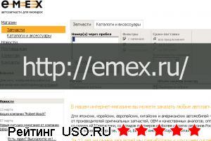 Emex.ru — отзывы посетителей сайта