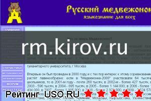 Rm kirov ru — отзывы посетителей сайта
