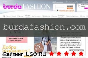 «Бурда Моден» официальный сайт burdafashion.com