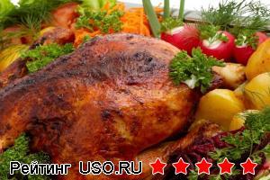 Как запечь курицу в духовке