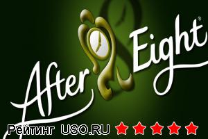 After eight шоколад