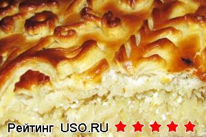 Пирог с капустой рецепт