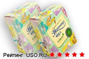 Hummings прокладки с лечебными травами