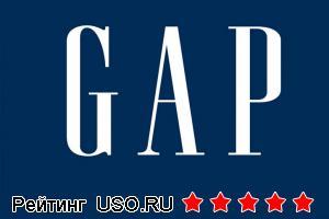 Gap магазин одежды. Сайт.