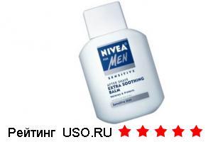 Гель для бритья  NIVEA for men sensitive/для чувствительной кожи
