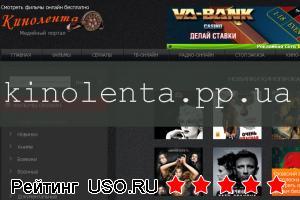 Kinolenta.pp.ua — отзывы посетителей сайта