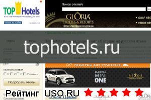 Tophotels.ru — отзывы посетителей сайта
