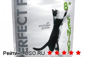 Корм для кошек Perfect Fit Senior