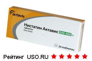 Нистатин — отзывы