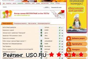 Koolinar.ru — отзывы посетителей сайта