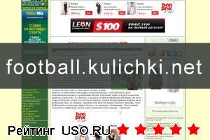 Сайт Футбол на куличках