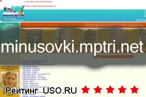 Minusovki.mptri.net — отзывы посетителей сайта