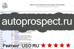 Autoprospect ru — отзывы посетителей сайта