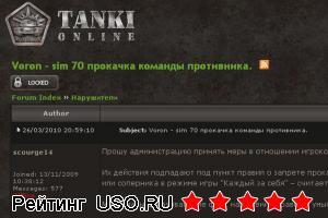 Tankionline com — отзывы посетителей сайта