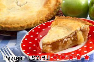 """Французский перевёрнутый яблочный пирог """"Татин"""""""