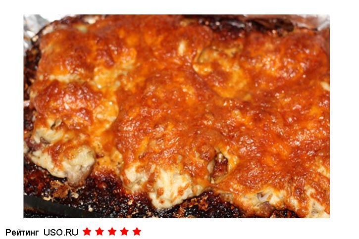 мясо по французски фото рецепт